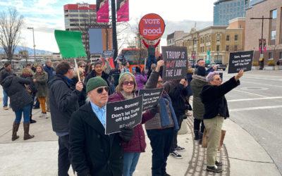 ABC4 – Faith-based and social justice groups rally for fair impeachment trial