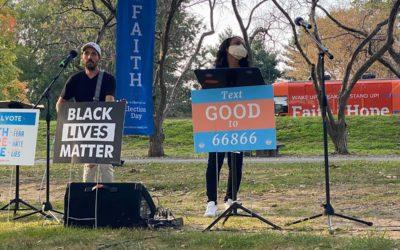 FOX 56 – As President Trump heads to PA tomorrow, progressive evangelicals rally in W-B